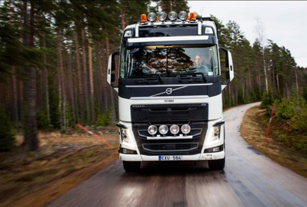 Fewer injuries at work with Volvo Dynamic Steering