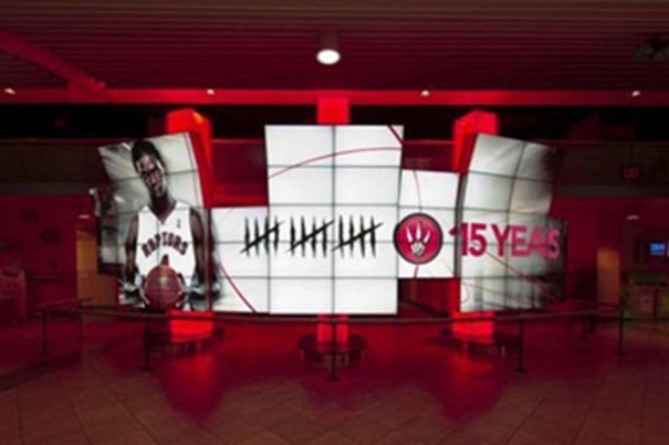 3-d Interactive Display improve sales by grabbing the attention of people