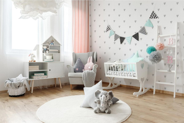 tapeta dla niemowlaka