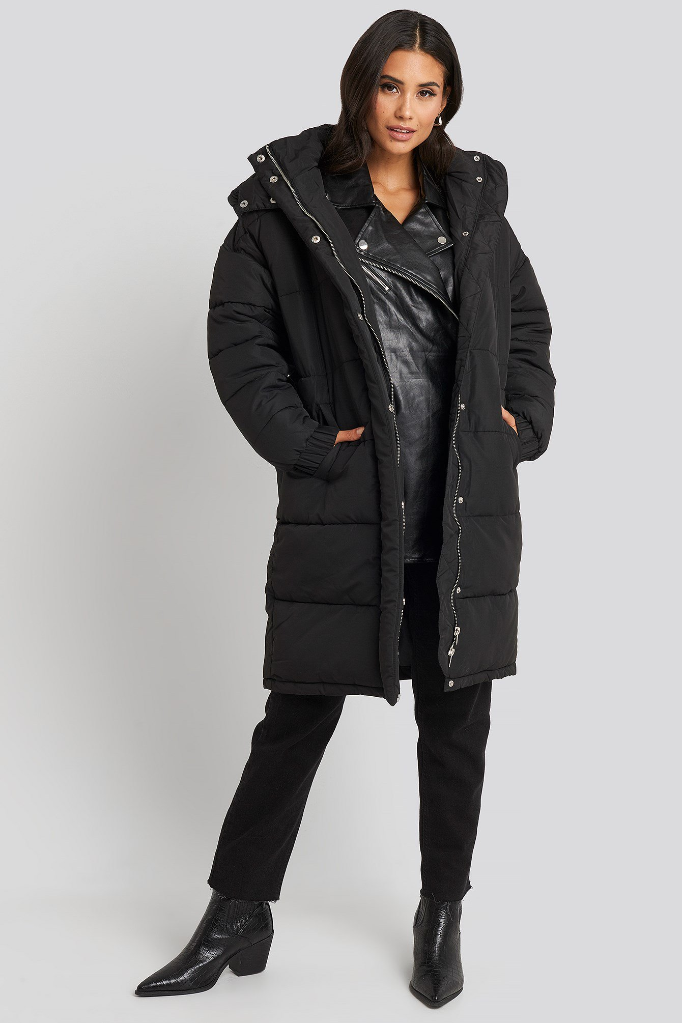 Ciepły płaszcz NA-KD