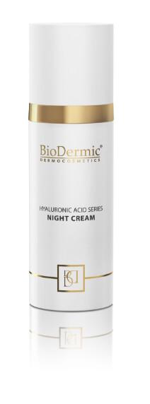 Biodermic Dermocosmetics Krem na noc z kwasem hialuronowym