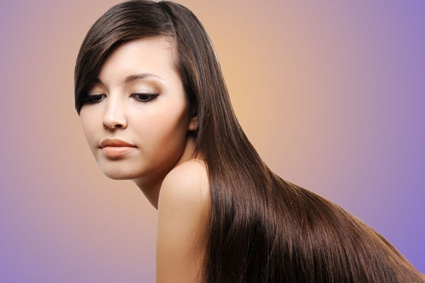 Get those shiny looking hairs with Keratin hair straightening therapy!
