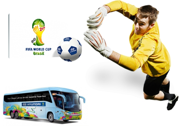 Hyundai - sponsor of the FIFA World Cup 2014!