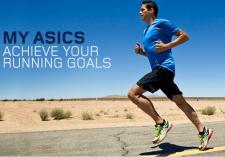 Take up the Asics Challenge and start running!