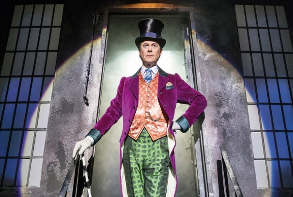"See the incredible musical ""Charlie and the chocolate factory"""