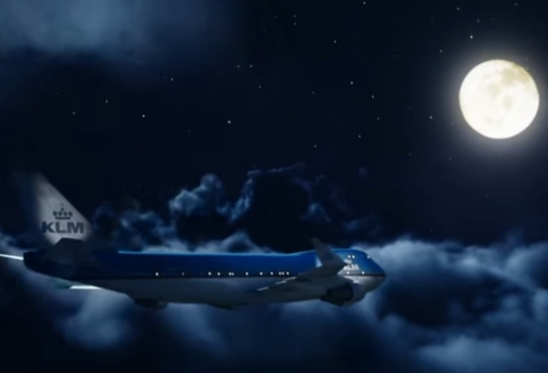 KLM wishes Merry Christmas!