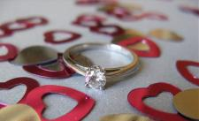 Engagement ring- Symbol of sensation, devotion as well as love